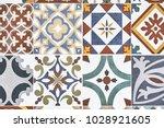 Texture Of Ceramic Tiles In...