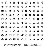 web icons set | Shutterstock .eps vector #1028935636