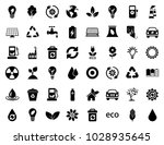 energy and ecology icons | Shutterstock .eps vector #1028935645