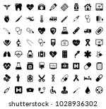 medical icons set | Shutterstock .eps vector #1028936302
