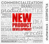 new product development word... | Shutterstock .eps vector #1028936716