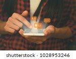 social media social network...   Shutterstock . vector #1028953246