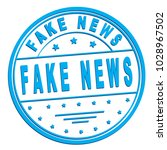 "rubber stamp with text ""fake... 
