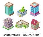 isometric residential buildings ...   Shutterstock .eps vector #1028974285