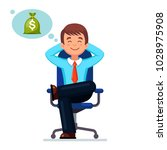 business man  entrepreneur... | Shutterstock .eps vector #1028975908