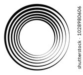 concentric circles  concentric... | Shutterstock .eps vector #1028980606