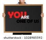 girl  manager  student ... | Shutterstock .eps vector #1028985592