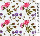 abstract floral background.   Shutterstock .eps vector #1028993032