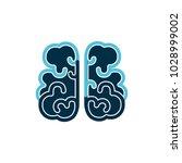 brain logo vector illustration | Shutterstock .eps vector #1028999002