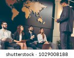 business people waiting for a... | Shutterstock . vector #1029008188