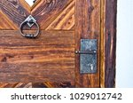 locking mechanism and knocker ... | Shutterstock . vector #1029012742