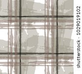 plaid. seamless grunge pattern... | Shutterstock .eps vector #1029019102