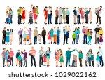 vector  isolated isometric... | Shutterstock .eps vector #1029022162