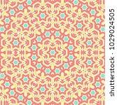 bright ethnic pattern for... | Shutterstock .eps vector #1029024505