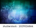 2d rendering stock market... | Shutterstock . vector #1029026866