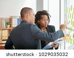 group of concentrated white... | Shutterstock . vector #1029035032