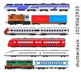 Passenger Train Set. Train...