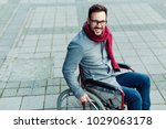 Young Man In The Wheelchair...