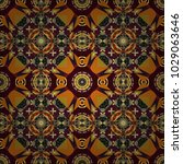 cotton or silk headscarf ... | Shutterstock .eps vector #1029063646