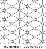 seamless geometric ornamental...   Shutterstock .eps vector #1029075316