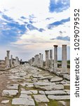 Small photo of The Ancient City of Laodikeia aka Laodicea in Denizli City in Aegean coast of Turkey