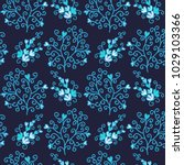seamless floral pattern with...   Shutterstock .eps vector #1029103366