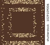 heart brown pattern which... | Shutterstock .eps vector #1029109006
