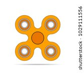 hand spinner icon  isolated on... | Shutterstock .eps vector #1029111556