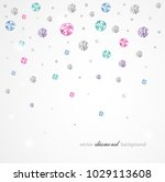 abstract color background with... | Shutterstock .eps vector #1029113608