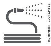 garden hose glyph icon  farming ...   Shutterstock .eps vector #1029124516