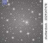 glow special effect light ... | Shutterstock .eps vector #1029147478