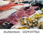 Fresh Seafood. Seafood Section...