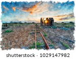 watercolour painting of an...   Shutterstock . vector #1029147982