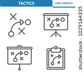 tactics icons. professional ... | Shutterstock .eps vector #1029164335