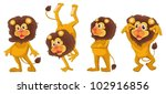 illustration of a set of... | Shutterstock .eps vector #102916856