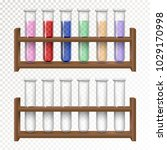 laboratory transparent... | Shutterstock .eps vector #1029170998