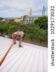 unidentify male construction... | Shutterstock . vector #1029173032