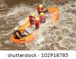 White Raft Water Force Ecuador...