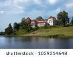 old swirzh castle on bank of... | Shutterstock . vector #1029214648