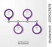 basic business infographics ...   Shutterstock .eps vector #1029215878