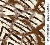 animal skin leopard pattern in... | Shutterstock .eps vector #1029232558