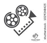 film camera abstract | Shutterstock .eps vector #1029248425