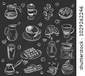 vector graphic  artistic ... | Shutterstock .eps vector #1029262246