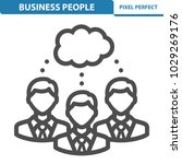 business people icon.... | Shutterstock .eps vector #1029269176