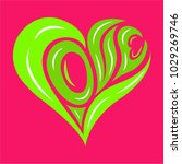 women day and valentines day... | Shutterstock .eps vector #1029269746