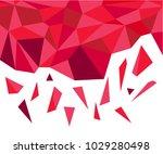 abstract polygonal vector... | Shutterstock .eps vector #1029280498