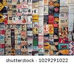 london  england   january 13 ... | Shutterstock . vector #1029291022