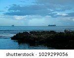 Small photo of Merchant ships, Port Terminal of Limón