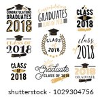 graduation wishes overlays ... | Shutterstock .eps vector #1029304756