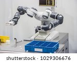 industry 4.0 robot concept .the ... | Shutterstock . vector #1029306676